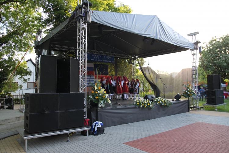 ozvučenie, pódium, osvetlenie nitra - AUDIOLIGHT